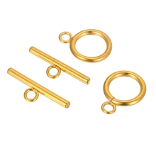 2-10 Sets 20x15mm Stainless Steel Toggle Clasps Connectors For Necklac