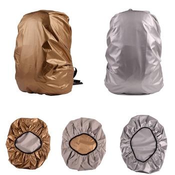 Portátil, impermeable, antidesgarre, a prueba de polvo, cubierta de lluvia de doble cara, a prueba de lluvia, para mochila de 30-40L