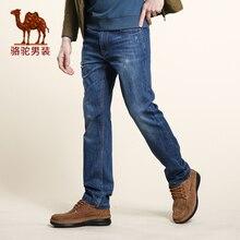 CAMEL мужские джинсы 2016 новый дизайн тощий тонкие джинсы бизнес случайный брюки мужчины