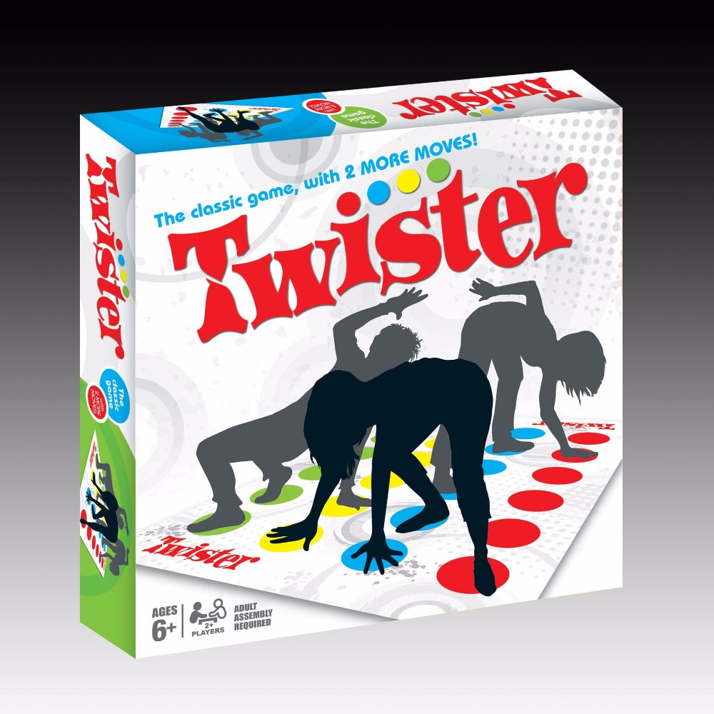 Body Twister Hot Body Dance Board Game Twister for Family Friends Adult Children Party Fun Entertainment Games Freeshipping falling tumbling monkeys fun party games