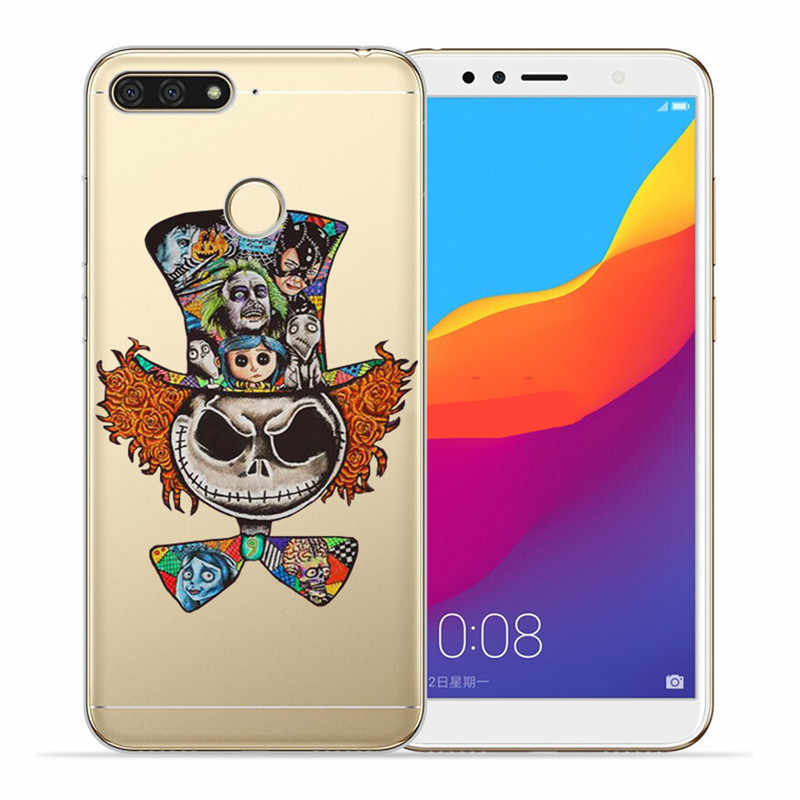 Роскошный чехол с Микки стичем для huawei Honor 10 9 8 8X 8C 7A 7C 7X7 6X 6A 20 Pro V20 20i Lite чехол для телефона чехол Funda Coque Etui Капа