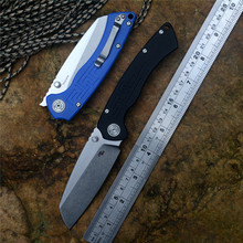 CH pocket knife toucans D2 blade G10 handle black or blue Folding Hunting Camping knives