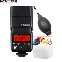 Godox Mini TT350 TT350S 2.4G TTL 1/8000s Camera flash for Sony Mirrorless DSLR Camera a77II a7R A6000 A6500 A99 A58 ILCE6000L
