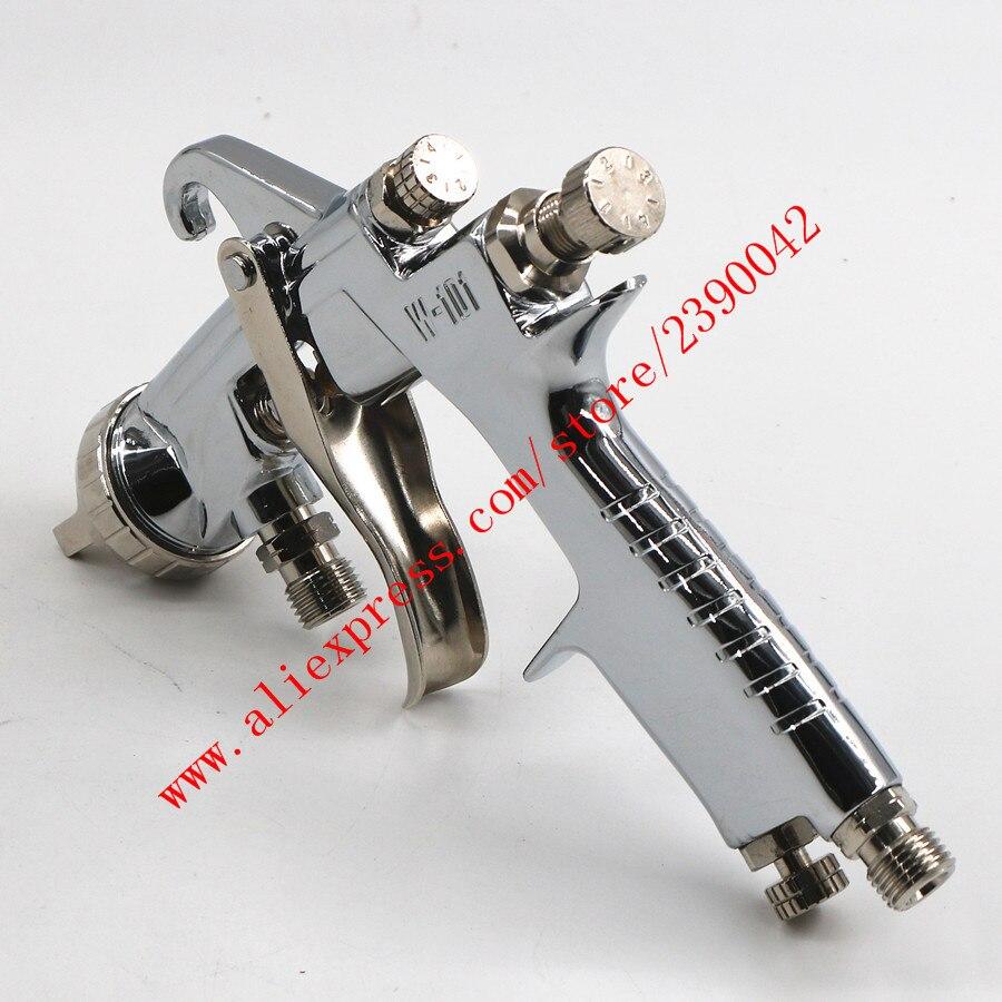 Pistolet de pulvérisation importé HVLP W101 pistolet de pulvérisation W-101 Type d'alimentation sous pression 1.0/1.3/1.5mm E2P revêtement de voiture pistolet de peinture pistolet à peinture - 6