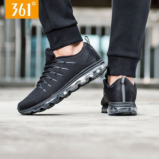 a0d21a55c1c0 361 Men Sac Air Shock Resistant Sports Running Shoes Winter Breathable  Portable Sneakers 671732246