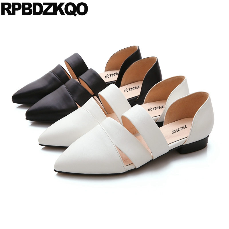 Pointed Toe Slip On White Sandals Walking 2017 Women Drop Shipping Flats Chinese China Ladies Cheap Shoes Fashion Latest 2017 new fashion women summer flats pointed toe pink ladies slip on sandals ballet flats retro shoes leather high quality