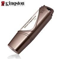 Kingston USB Flash Drive 8GB Memory Stick 16GB 32GB Mini Gold Flash Memoria Disk Custom Diy