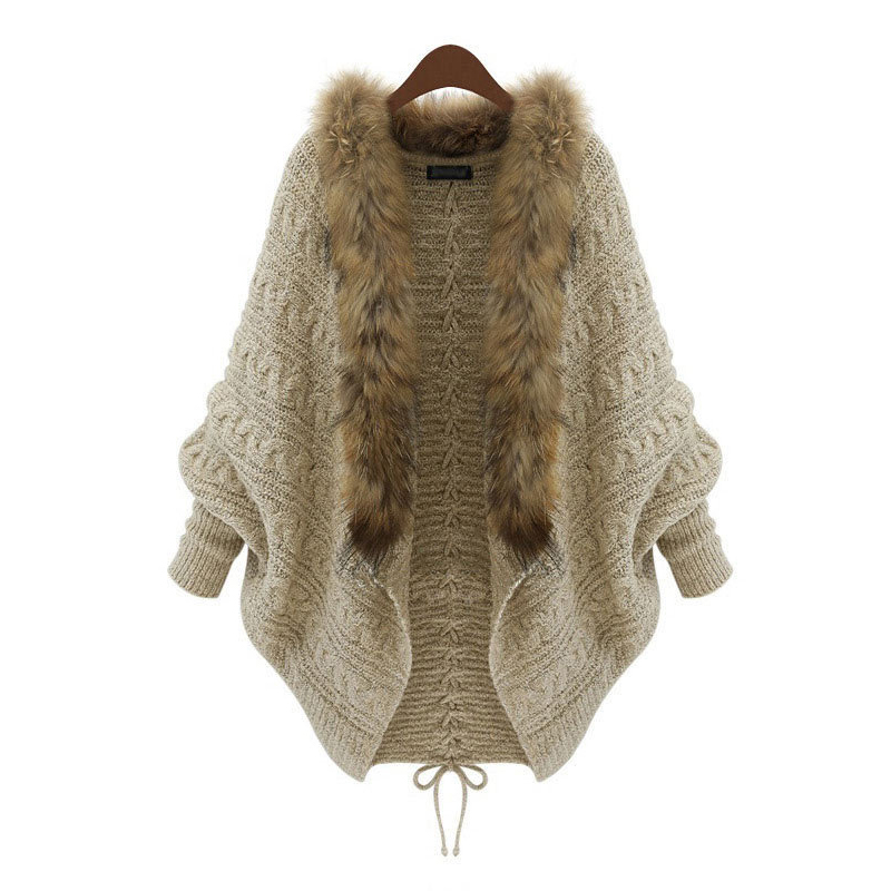 Girl's Clothing Knitted Sweater Girl Cardigan Jacket Coats Fur Collar Knit Jacket Baby Fashion Apparel 14-20 years old clothes high quality 2018 spring female knit cardigan coats chic diamond sequins long v neck sweater knit jacket women sueter mujer