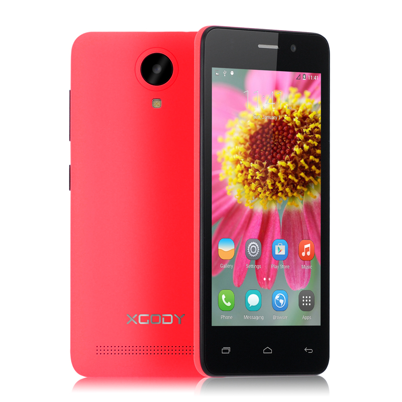 bb54a26ce0f2e XGODY G12 3G 4.5 Inch Smartphone Android 5.1 Quad Core MTK6580 1GB RAM 8GB  ROM 5MP Camera GPS WiFi Dual SIM Unlocked Cell Phones-in Mobile Phones from  ...