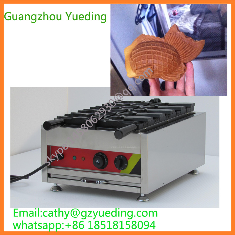 New electric Stainless Steel Fish Shape With Open Mouth Taiyaki Magikarp Taiyaki Maker For SaleNew electric Stainless Steel Fish Shape With Open Mouth Taiyaki Magikarp Taiyaki Maker For Sale