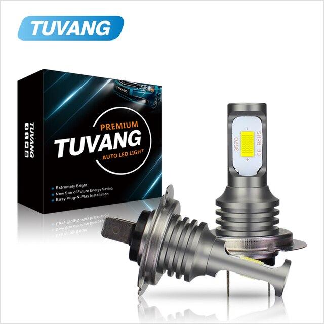 2x H7 H8 H11 9005 HB3 9006 HB4 H16 H1 H3 881 880 3570 Chip Canbus External Led Bulb Car Led Fog Driving Lights Lamp Light Source