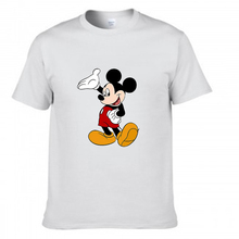 Kawaii cute mickey Minnie mouse printed t shirt men women's summer short sleeve t-shirt cartoon t-shirt clothing for women tees