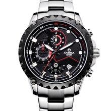 Nueva Marca De Lujo de Relojes de Los Hombres TOP de moda de lujo de múltiples funciones encantadora Del Deporte Para Hombre reloj de cuarzo CASIMA impermeable #8203