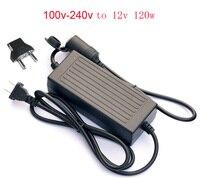 120W AC 100V 240V to DC 12 V Car Cigarette Lighter AC to DC Adapter Converter Transformer DC Power Converter for Car