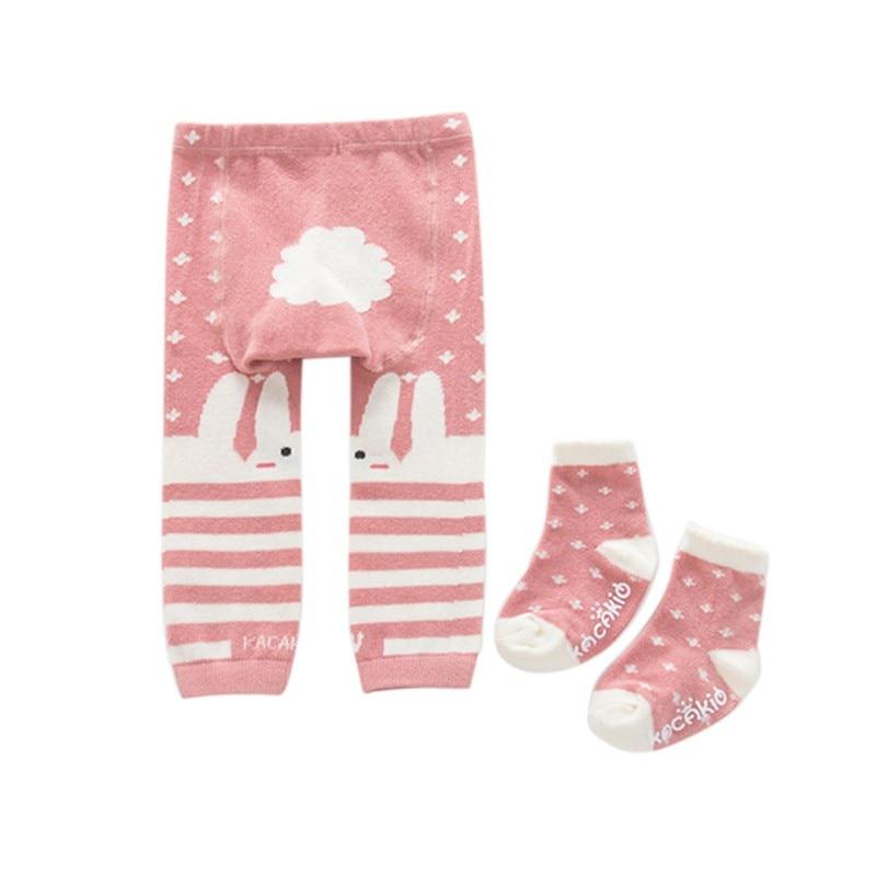 3bf5cc488b2ba Baby Girls Tights Cartoon Animal Pattern Baby Boys Girls Pants ...