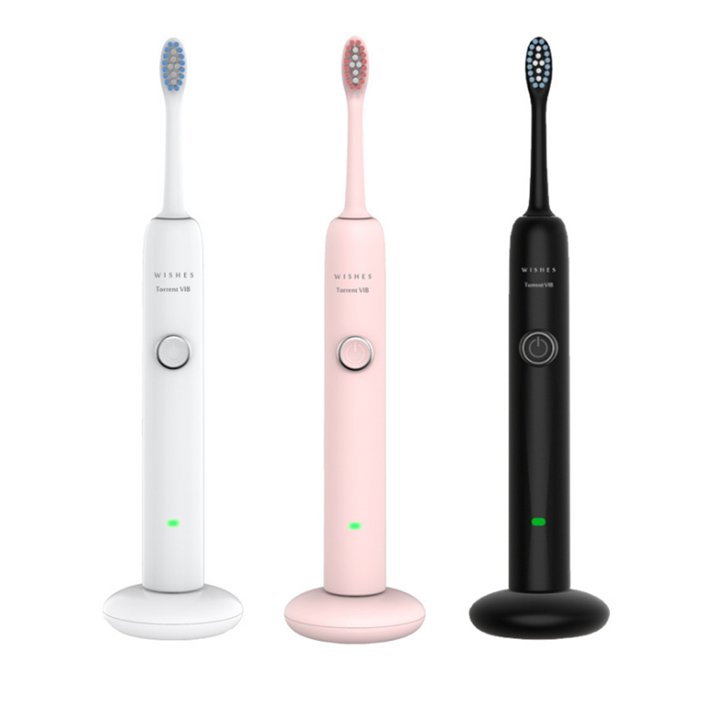 Electric Toothbrush Portable Rechargeable Ultrasonic Automatic Sonicare Sonic Intelligent Whitening Toothbrush With Three Models image