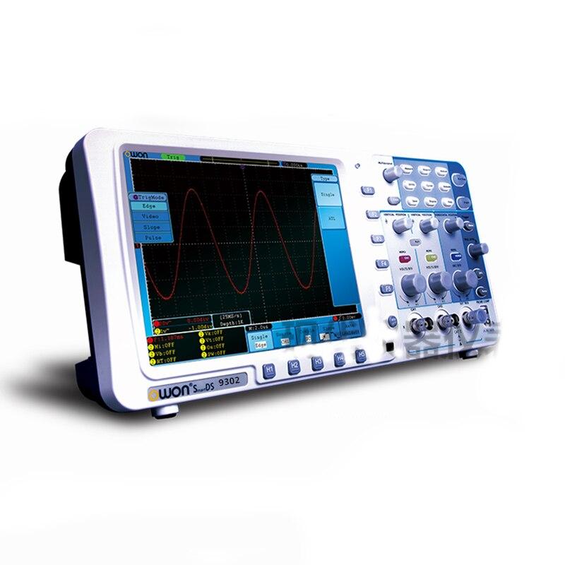 Owon SDS9302 300 MHz, 3.2 GS/s, 2 Ch Deep Memory Digital Storage Oscilloscope