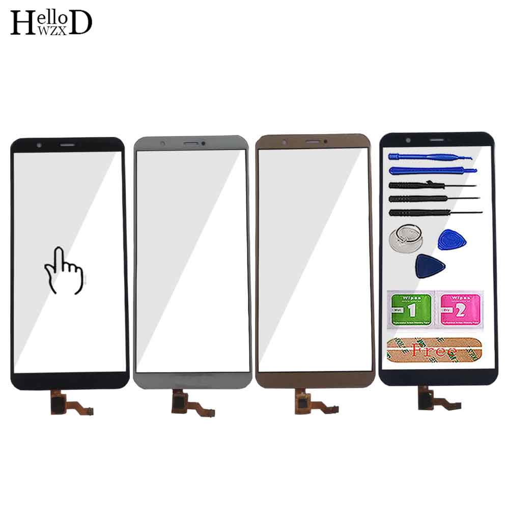 5.6'' Mobile Touch Screen Panel For Huawei P Smart Touch Screen Digitizer Panel Front Glass Sensor Repair Part TouchScreen Tools