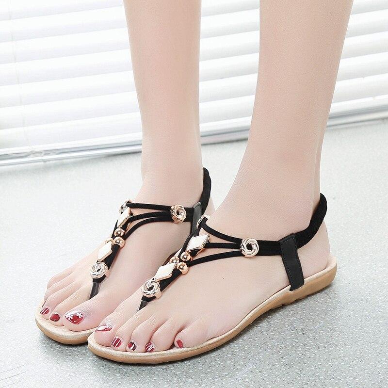 Women sandals comfort sandals summer shoes women retro flip flops Ladies shoes 2018 fashion flat sandals women shoes summer