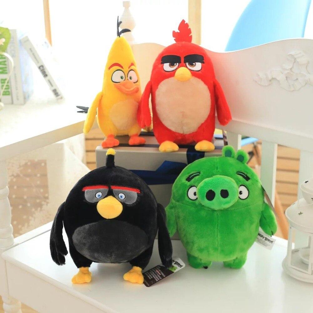 Free shipping Red birds plush font b toys b font birthday gift Christmas gift