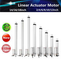 Wolike 150KG 1500N 4-18 Inch 330lbs DC 12V Electric Motor Linear Actuator For lectric Self Unicycle Scooter Input Voltage Range
