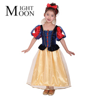 MOONIGHT Halloween Cosplay Children Costume Costumes Gorgeous Snow White Costume Princess Dress