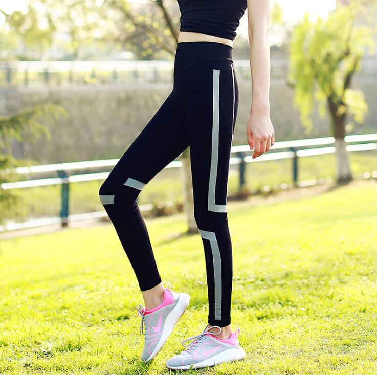 Women Quick Drying Slim Fitness Trousers Outdoor Sportswear Professional Leggings Running Pants Gym Sport Legging Pants