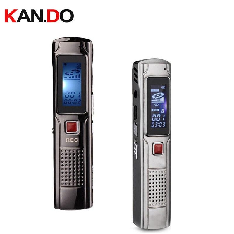 Treu Vm86 8 Gb Metall Voice Tracker Professionelle Audio Recorder Tragbare Business Digital Voice Recorder Telefon-aufnahme Mp3-player Digital Voice Recorder