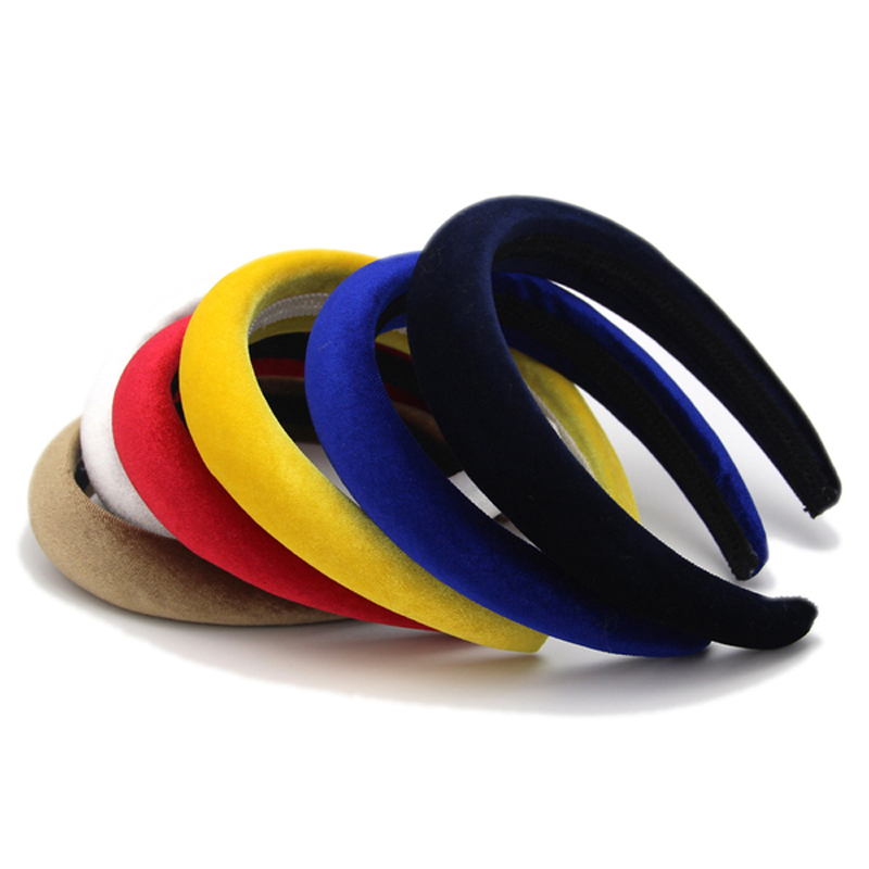 Ženske Velvet Headbands Pribor za lase Hair Band Modni pokrivala Head Band Drop Shipping