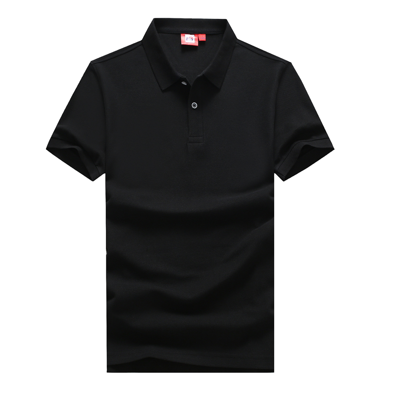 men's short sleeves, solid-colored   POLO   shirts, men's large sizes, loose summer Korean trend