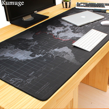 купить 100x50cm Old World Map Large Gaming Mouse Pad Rubber Locking Edge Mousepad Mice for LOL Dota 2 CSGO for Laptop Game Player Mat дешево