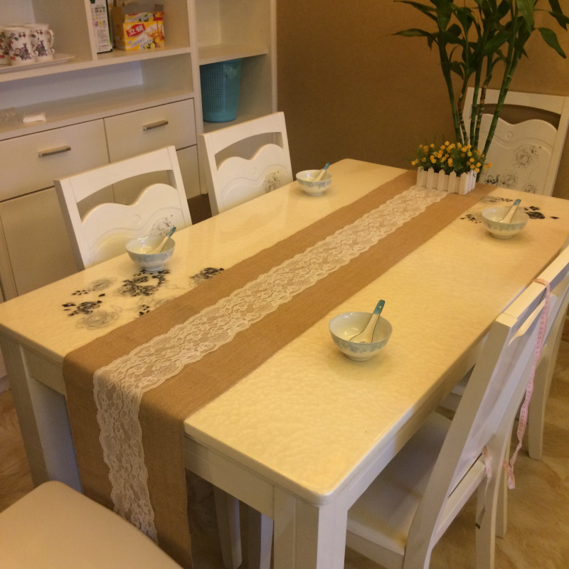 30cm 3yards decorative parlour dining table the european - Caminos de mesa de papel ...