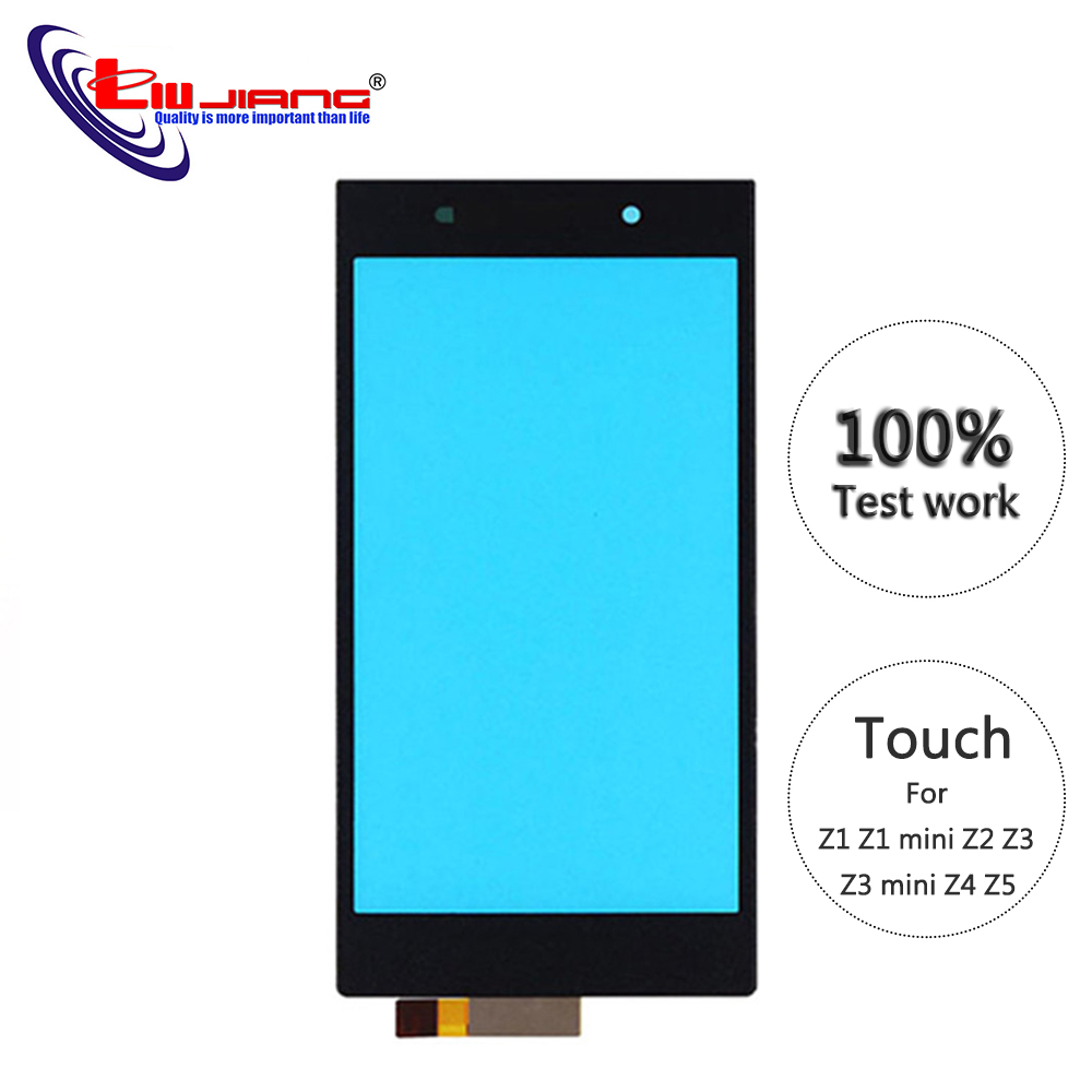 Original Touch Screen For Sony Z1 Z1Z3 Compact Z2 Z3 Z4 Z5 Digitizer Front Glass Panel Touchscreen Replacement Parts