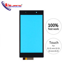 Original Touch Screen For Sony Z1 Z1Z3 Compact Z2 Z3 Z4 Z5 Digitizer Front Glass Panel Touchscreen Replacement parts(China)