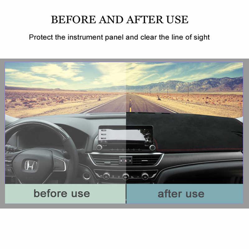 MIDOON سيارة السيارات الداخلية لوحة غطاء Dashmat سادة السجاد اندفاعة حصيرة لفورد رينجر 2015 2016 2017 2018 2019 RHD مكافحة القذرة
