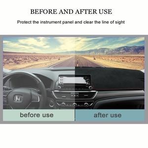 Image 5 - MIDOON لهوندا Fit جاز 2001 2007 سيارة التصميم يغطي داشمات داش حصيرة الشمس الظل لوحة القيادة غطاء كابتر 2002 2003 2004 2005 200