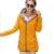 Moda 2016 nova outono e inverno mulheres jaqueta Casual sólidos Zipper feminino com capuz além de veludo Cardigan casaco Outerwear WY438