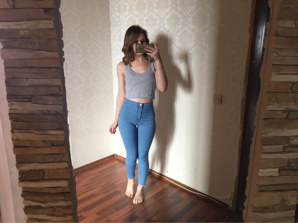 18 New Fashion Jeans Women Pencil Pants High Waist Jeans Sexy Slim Elastic Skinny Pants Trousers Fit Lady Jeans Plus Size 74