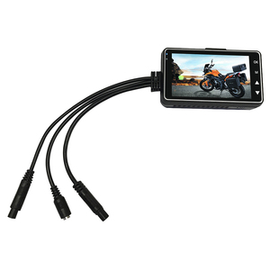 Image 5 - KY MT18 オートバイカメラ DVR モーターダッシュカム特別なデュアルトラックフロントリアレコーダーバイクエレクトロニクス