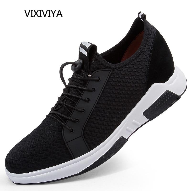 새로운 캐주얼 플랫폼 신발 남자 2018 여름 통기성 - 남성용 신발