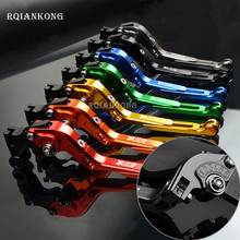 hot deal buy cnc aluminum motorcycle parts brake clutch lever for suzuki dr650s dr 650s 650 s folding extendable adjustable moto accessories