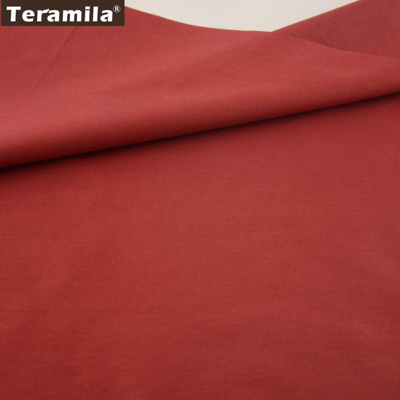 Noble Rose Color Rojo Sólido 100% Tela de Algodón Fat Quarter Patchwork quiltin