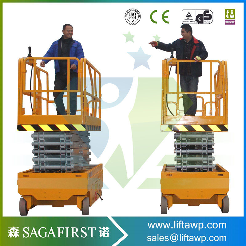 Auto Moving 12m Self Propelled Scissor Lift Platform