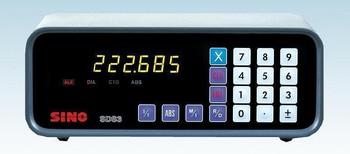 SDS3-1E SINO Single Axis Digital Readout One Axis DRO Units sds3 1 устройство цифровой индикации
