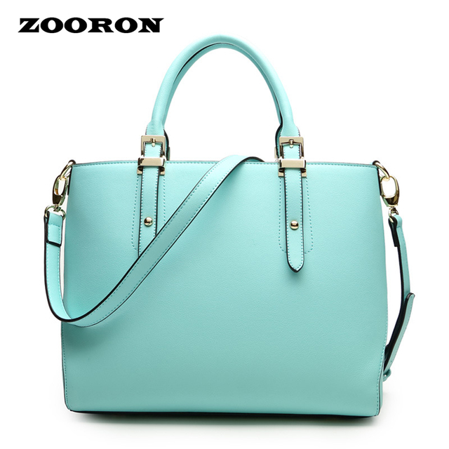 ZOORON Satchel Youth Boston Pu women bag spring 2017 Fashion Leather Handbag women Shoulder messenger bags high quality Handbag