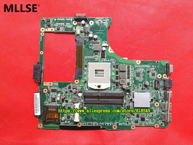 все цены на Laptop Motherboard fit for ASUS N55SF N55SL N55S REV 2.0 60-N5FMB3600B03 HM65 DDR3 full Tested онлайн