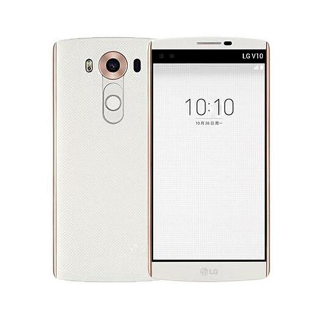 "Original Unlocked LG V10 H901/H961 single/dual sim 5.7"" 4GB RAM 64GB ROM 3 cameras Refurbished Mobile Phone  NO Hebrew language 1"