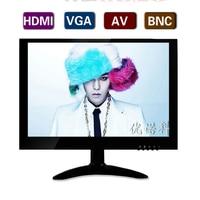 10 1 Inch Widescreen 16 10 BNC HDMI VGA Metal Shell AV HD LCD Interface Industrial