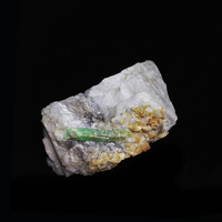 357g NATURAL Emerald quartz crystal stone ore Mineral samples collection Z5 69