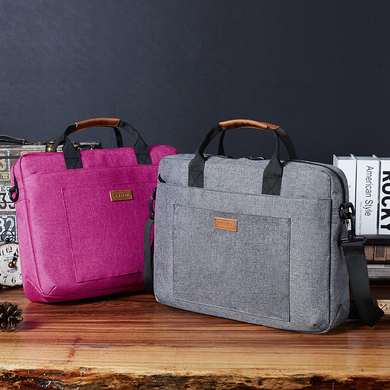 """Laptop Bag With Belt For Trolley System For Macbook Pro 15 13 Retina For Macbook Air 13 11 With Large Capacity For 17"""" Laptop"""